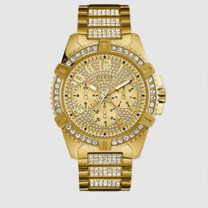 Reloj de hombre Guess Frontier W0799G2 multifunción de acero dorado ColorOro