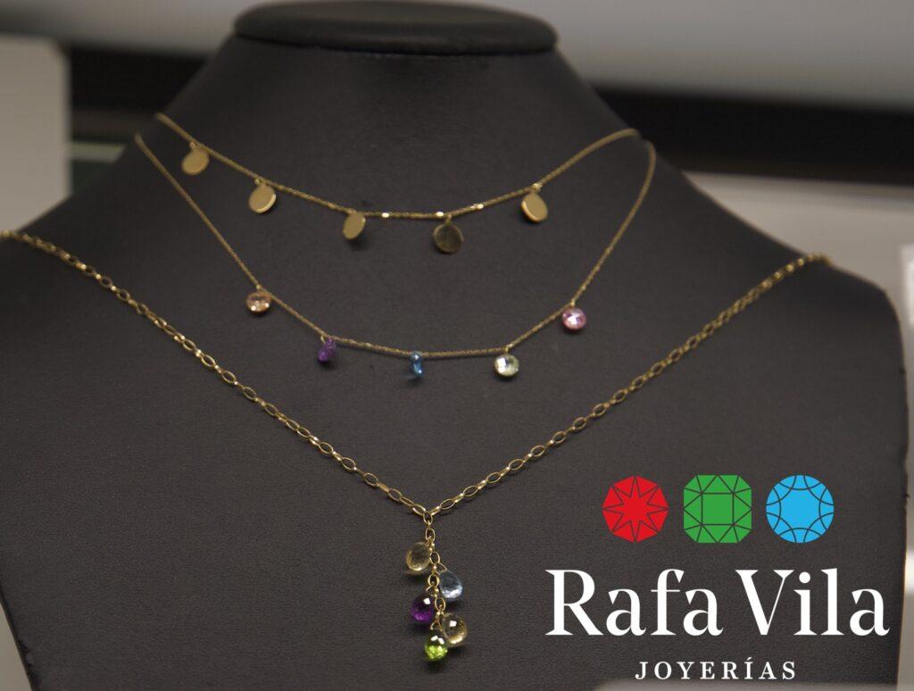 joyas delicadas en joyería Rafa Vila